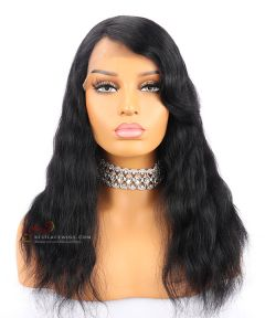 16in 130% density Indian Remy Hair Full Lace Wig with Bang  [CWS147]