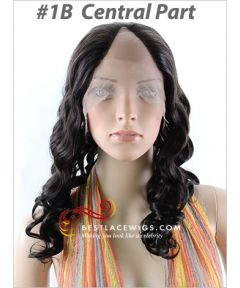 Indian Remy Hair Lace Front U-Part Wigs With Body Wave Hair [UW08]