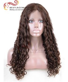 Full Lace Wig With Deep Wave Virgin Human Hair [GSW119]