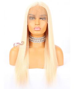 18in 27# Silky Straight Brazilian Virgin Hair Glueless full lace  [CWS120]