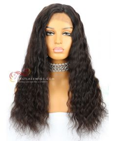 20in 120% density Wave Brazilian Virgin Hair Glueless Full Lace Wig  [CWS145]