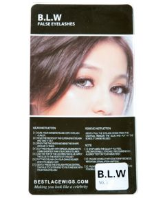 6 Pairs Blw False Eyelashes [FE0500]