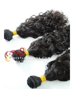 3 Bundles Brazilian Curl Virgin Indian Hair Weaves [CWS088]