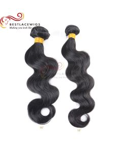 2Pcs/Lot Virgin Indian Hair Weaves Body Wave [BS091]