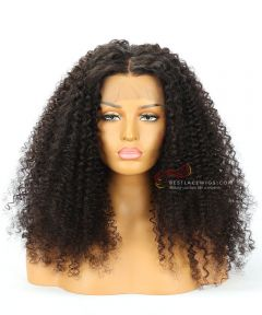 "22"" 130% Density Water Wave Brazilian Virgin Hair Lace Front Wig[CWS173]"
