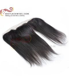 13X4in Indian Remy Hair Silky Straight Lace Frontal [LF01C]