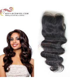 Body Wave Virgin Peruvian Hair Lace Closure [PSC03]