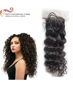 Deep Wave Virgin Peruvian Hair Lace Closure [PSC04]
