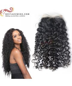 Virgin Peruvian Hair Water Wave Lace Closure [PSC05]
