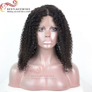 Silk Top Glueless Full Lace Wigs Virgin Human Hair Water Wave[GSW048W]