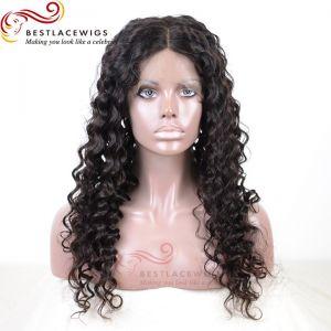 Silk Top Glueless Full Lace Wigs Virgin Human Deep Wave Hair [GSW048D]