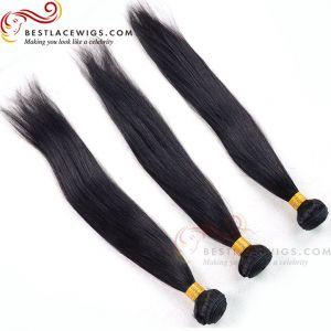 Virgin Indian Hair 3Pcs Bundles Straight Hair Weaves Extensions [BS081]