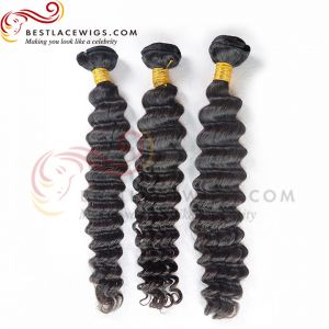 Deep Wave Brazilian Virgin Hair Extensions 3 Pcs/Lot [BS033]