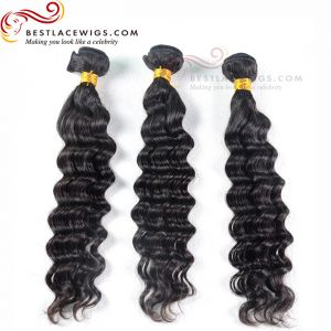 Brazilian Hair Weaves Bundles 3Pcs/Lot Loose Wave Hair Extensions [BS054]