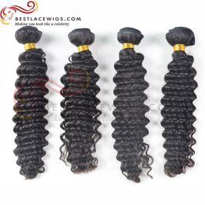 Virgin Brazilian Hair 4Pcs/Lot Deep Wave Hair Weaves [BS066]