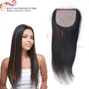 Yaki Indian Remy Hair Silk Base Closure [STC02]