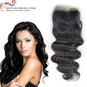 Body Wave Virgin Brazilian Hair Lace Closure [TCB13]