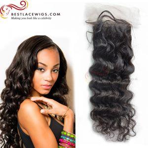 Deep Wave Virgin Brazilian Hair Lace Closure [TCB14]