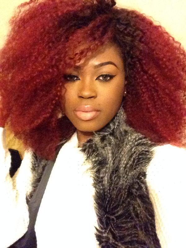 180 Density Big Hair Afro Kinky Curl Virgin Brazilian Hair Glueless Lace Wigs [OSW064]