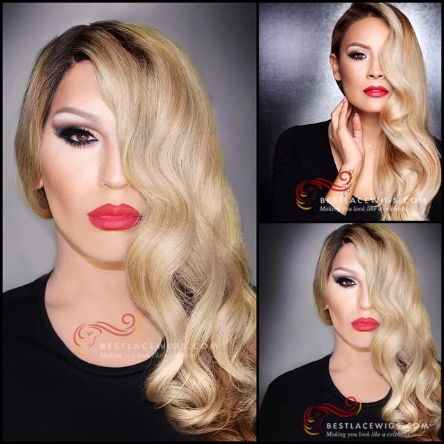 Adrienne Bailon Celebrity Glueless Full Lace Wigs