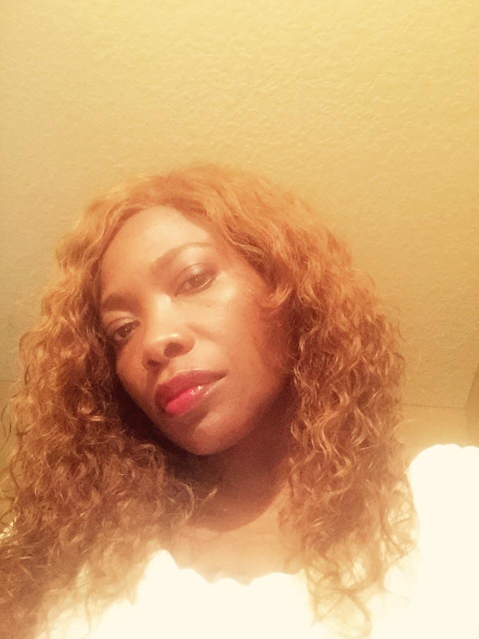 Miles and miles of reddish brown curls. Heavenly.