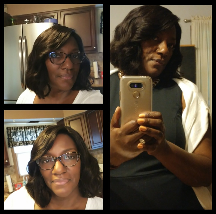 10inches wavy chinese virgin full lace wig