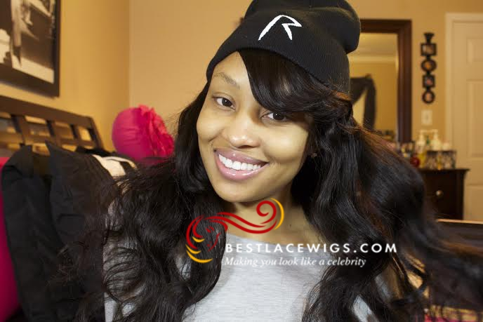 Hot Full Lace Wigs With Bang Indian Remy Malika Haqq Hair Www