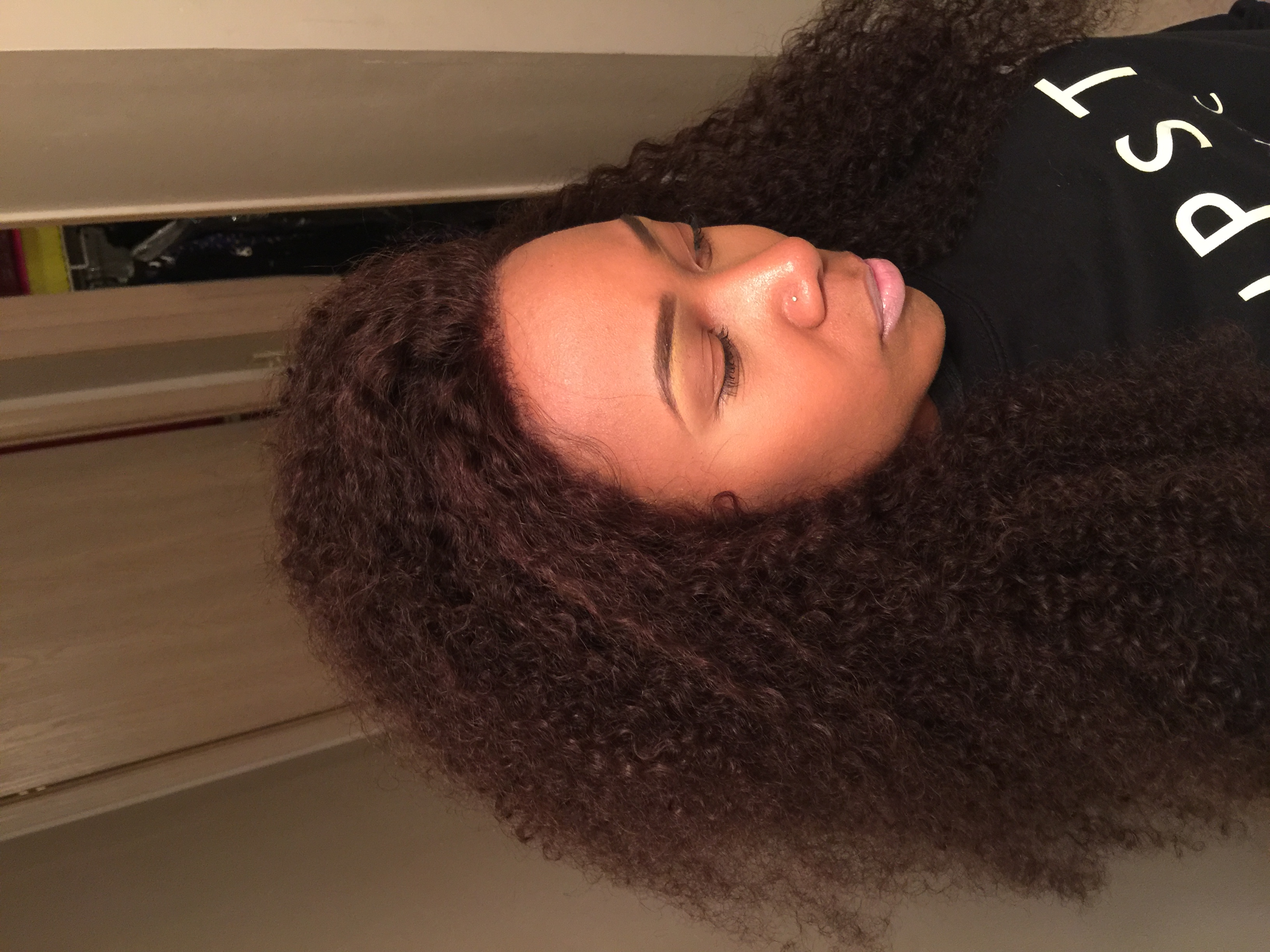 I customized me hair line to look more natural