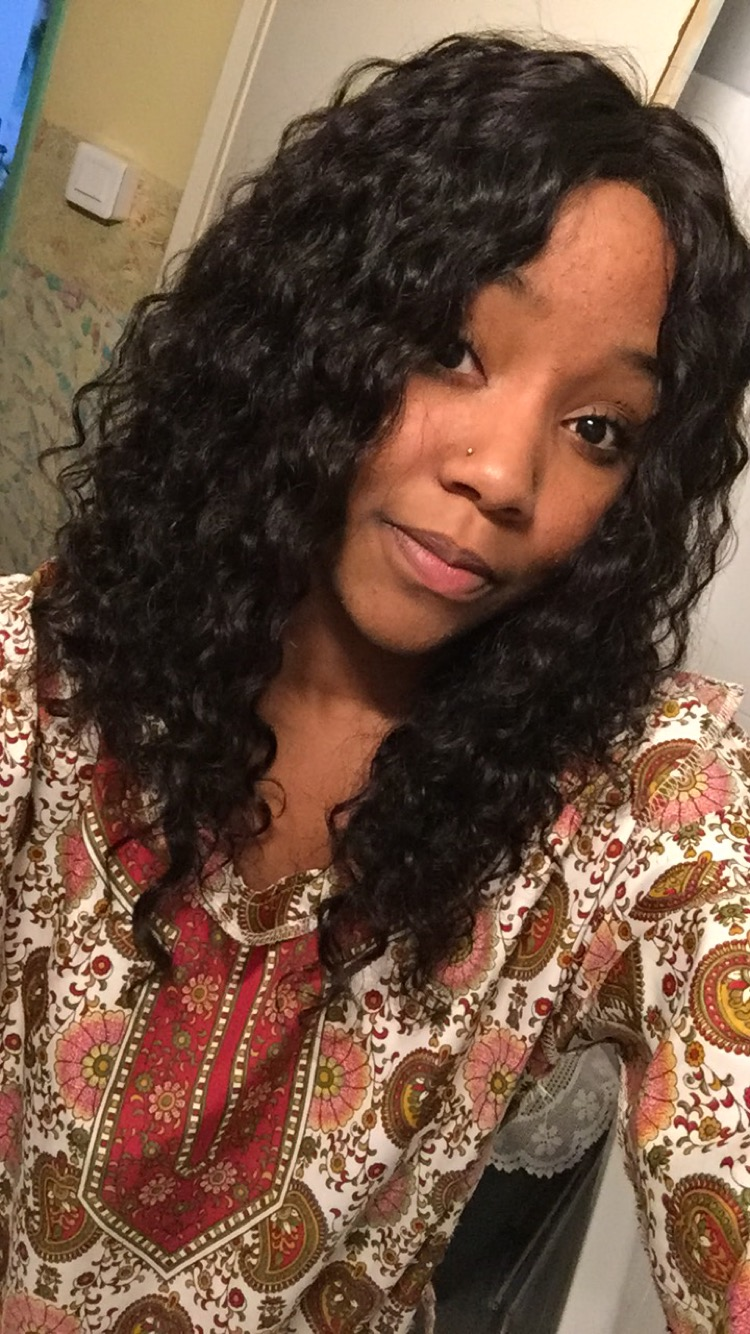 Lace front SW092 wig