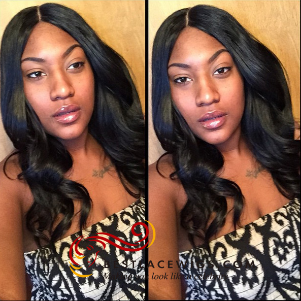 brazilian hair weaves with silk base closure